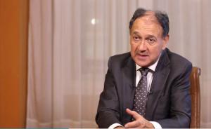 Paul Hermelin, CEO, bei der Kommentierung der Jahresbilanz 2014 © Capgemini