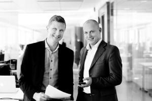 Karl Moberg, CEO, und Mattias Pihlström, Co-CEO von Brightstep© Accenture